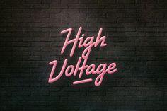 High Voltage by BLKBK on Creative Market