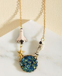 A lovely space necklace for the stargazer who loves going to the planetarium. | 39 Of The Best Gifts To Buy At Modcloth