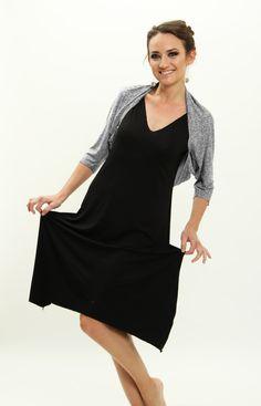 Versatile and comfy bolero. www.etsy.com/il-en/listing/259500816/evening-wrap-gift-for-her-shoulder-shrug