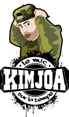 Job for the Swiss DJ Kim Joa.  Illustrator.