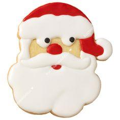 Foremka do wykrawania ciastek - twarz Świętego Mikołaja | BIRKMANN CHRISTMAS