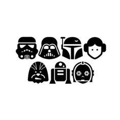 Oh My Fiesta! for Geeks - Printable Star Wars - Ideas of Printable Star Wars - Star Wars Babies: Free Printable Mini Kit. Oh My Fiesta! for Geeks Star Wars Baby, Schultüte Star Wars, Theme Star Wars, Star Wars Gifts, Star Wars Icons, Star Wars Quotes, Star Wars Humor, Citations Star Wars, Paar Illustration