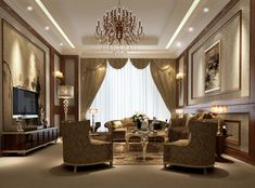 127 Luxury Living Room Designs Living rooms Room and Elegant