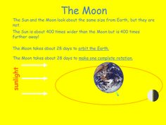 Download this highly-rated day and night and moon phases PowerPoint presentation for #EarthDay