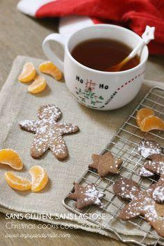 Des biscuits de Noël sans gluten ni lactose mais pas sans saveur
