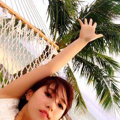 【yukiko_chan12】さんのInstagramをピンしています。 《✈︎✈︎✈︎ ハンモックでのんびり😆💗 #旅行#海外旅行#travel#trip#サイパン#saipan#海#beach#followme》