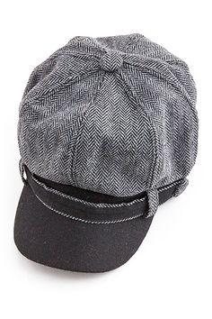 Something Special Hats | Herringbone Newsboy Cap | HauteLook