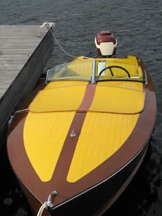 Century Outboard Boat