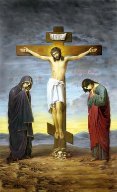 saint peter and jesus by on DeviantArt Christ The King, The Cross Of Christ, Catholic Art, Religious Art, Rosary Mysteries, Church Icon, Our Lady Of Sorrows, Crucifixion Of Jesus, Pictures Of Jesus Christ