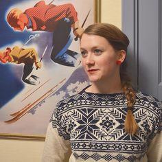 Klar for after ski med ny #eirefjellgenser ❄️ #merinoull #sandnesgarn #tradisjonsstrikk #hogfjellshotell #egostrikk Bunt, Knitting, Instagram Posts, Pattern, Sweaters, Inspiration, Women, Fashion, Threading