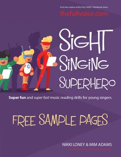 Inspired Vocal Music Resources for Young Singers. The FULL VOICE Workbooks - a workbook for young vocal students. Singing, music theory, ear-training, rhythm reading and sight singing curriculum for Vocalists. Vocal Lessons, Singing Lessons, Singing Tips, Music Lessons, Sight Singing, Vocal Exercises, Reading Music, Lesson Planner