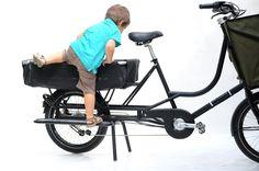 Kinder lieben das Bicicapace, weil sie selbständig aufsteigen können - der...