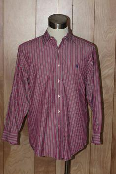 MEN'S POLO RALPH LAUREN ANDREW DRESS SHIRT-SIZE: 16 (32/33)*