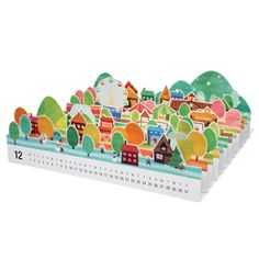 3d calendar It would be cooler to have this the Island of Sodor and trains on it