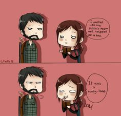 Ellie, from The Last of Us, Tells a Joke Video Game Memes, Video Games Funny, Epic Games, Best Games, Joel And Ellie, The Last Of Us, Fanart, Gaming Memes, Funny Comics