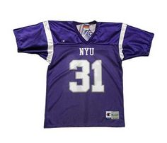 New York University Bookstores - NYU Football Jersey 4f79e0e7d
