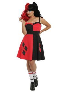 DC Comics Harley Quinn Skater Dress size 12