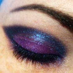 #purple #black #vamp #vampire #wickedwitch #witch #BHcosmetics #Halloween #glam #tooglamtogiveadamn #sexy #shimmer #iamshortandgeeky #makeup #eyelashes #evil #eyemakeup #Queen
