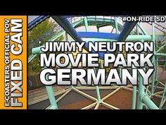 Vidéo embarquée du roller coaster Jimmy Neutrons - Atomic Flyer situé dans le parc d'attraction Movie Park Germany en Allemagne. N'hésitez pas à venir découvrir sur notre channel Youtube, nos plus de 200 vidéos On-Ride : http://www.youtube.com/ecoasters !!