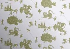 Buy online, PaperBoy kids wallpaper, Ere-Be-Dragons in lilac. A boy's wallpaper in a grey-lilac with dragons and a feisty boy in green. Dinosaur Wallpaper, Boys Wallpaper, Wallpaper Decor, Print Wallpaper, Wallpaper Roll, Traditional Fairy Tales, Dragon Print, Red Dragon, Child Love