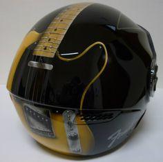 Airbrush Guitar Helmet