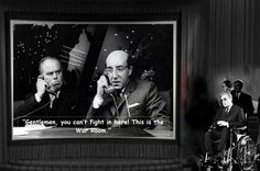 Dr. Strangelove, is a 1964 black comedy film which satirizes the nuclear scare. It was directed, produced, and co-written by Stanley Kubrick, starring Peter Sellers and George C. Scott, and featuring Sterling Hayden, Keenan Wynn, and Slim Pickens. The film is loosely based on Peter George's Cold War thriller novel Red Alert, also known as Two Hours to Doom.