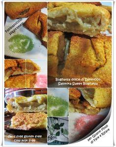 Salonika Sweet Bughatsa gluten free dairy free cow milk free, recipe on my blog! copyright Fabipasticcio