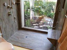 Rosemary Seamless Corian Shower - contemporary - bathroom - sacramento - Signature Surfaces Inc.
