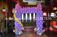 rapunzel balloons