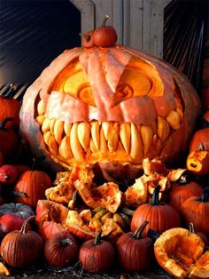 Check Out 80 Cool Halloween Pumpkin Carving Ideas. A decorative pumpkin is one the main symbols of this day and that's why almost every house is usually filled by various interesting pumpkins every Halloween.
