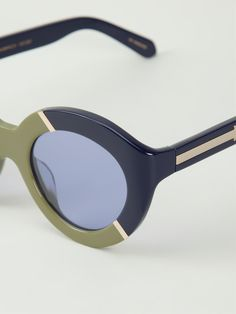 Shop KAREN WALKER EYEWEAR 'Flower Patch' sunglasses from Farfetch