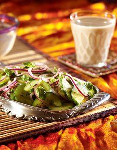 Kurkku-limettisalaatti | Intia | Pirkka #food #India