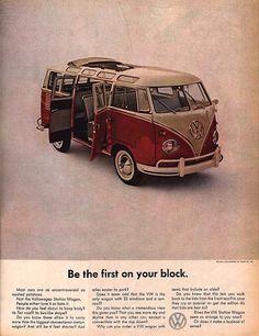 15 Retro / Vintage Volkswagen Camper Van and Bus Adverts | VW Camper ...want one!