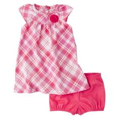>>Outfit Idea for Lemonade Stand Minis with Jill Macnab Photography<< Just One You;Made by Carter's® Girls' Dress and Panty Set - Pink $7.99
