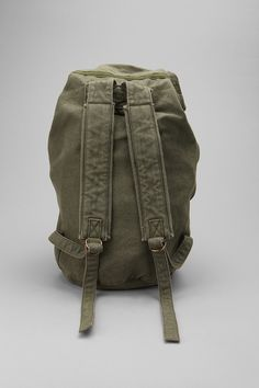 Canvas Duffle Backpack - Urban Outfitters