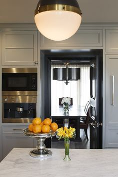 Kitchen with Bi Fold Doors, Contemporary, kitchen, Artistic Designs for Living