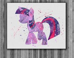Pony Twilight Sparkle Printable art My Little by digitalaquamarine