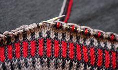 Fair Isle Knitting - a very good article to ease into fair isle knitting.