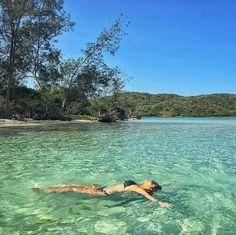 Águas cristalinas na Ilha do Japonês, Búzios, RJ