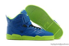 brand new 9c0a2 02f7c Mens Supra Bleeker High Skateboard Shoes Blue Green Supra Shoes, Men s  Shoes, Blue