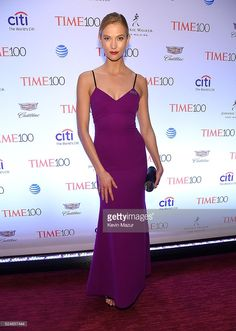 Karlie Kloss attends the 2016 Time 100 Gala, Time's Most Influential People In The World at Jazz At Lincoln Center at the Time Warner Center on April 26, 2016 in New York City.