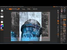 Zbrush - Texturing armor. - YouTube