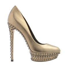 Studded double platform pump by Brian Atwood