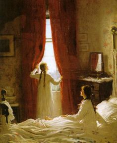 View Beautiful morning by Frederick William Elwell on artnet. Browse upcoming and past auction lots by Frederick William Elwell. Victorian Paintings, Victorian Art, Classic Paintings, Beautiful Paintings, Frederick William, Vintage Princess, Beautiful Morning, Painting & Drawing, Human Painting