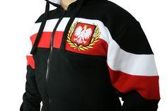 Motyw patriotyczny na bluzie 'Chorągiew' ---> Streetwear shop: odzież uliczna, kibicowska i patriotyczna / Przepnij Pina!
