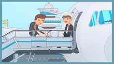Our second project for aviasales.ru  People who contributed to this project: Idea by Mark Martemianov Art-direction: Tim Constantinov Illustration: Tim Constantinov Character Design: Tim Constantinov Animation: Tim Constantinov Sound Design: Tim Constantinov with some music from audiojungle.net Team management: Tim Constantinov