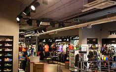 Oświetlenie sklepu sportowego ma swoje zasady