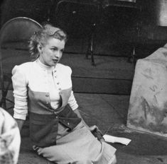 Marilyn Monroe tryout at Players Ring on Sunset 03-12-50 03 by Richard Miller