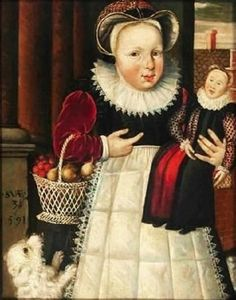 It's About Time: Children with Dolls 16C - 18C 1591 Anonymous, Portrait of a three-year-old girl