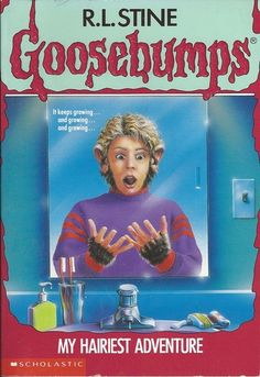 R L Stine Goosebumps #26 - My Hairiest Adventure